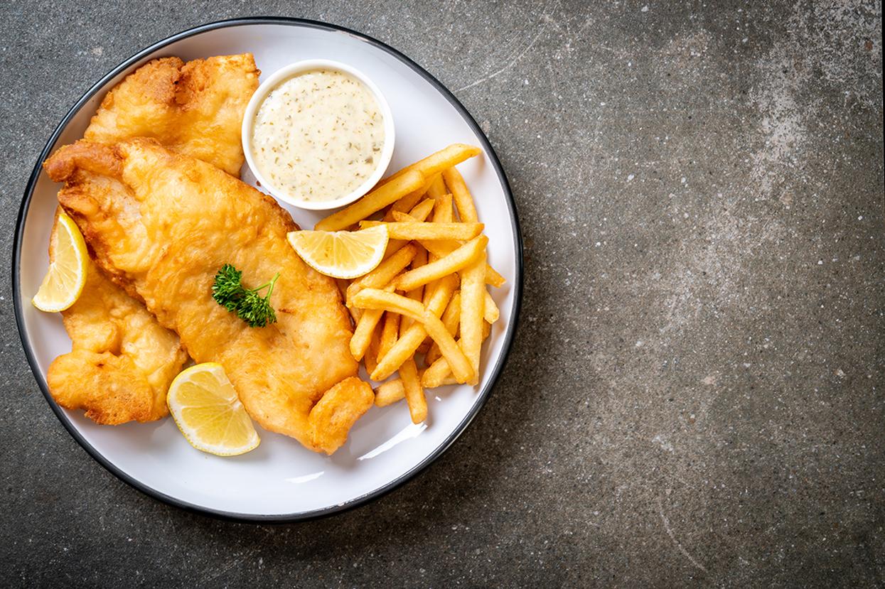 poissons et frites